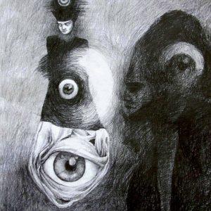 Vidieť je trpkosladké (Insight bittersweet), kresba, A2