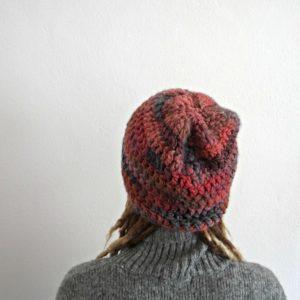 crochet woolen hat