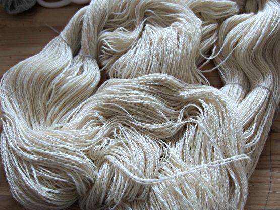 handspun merino-silk