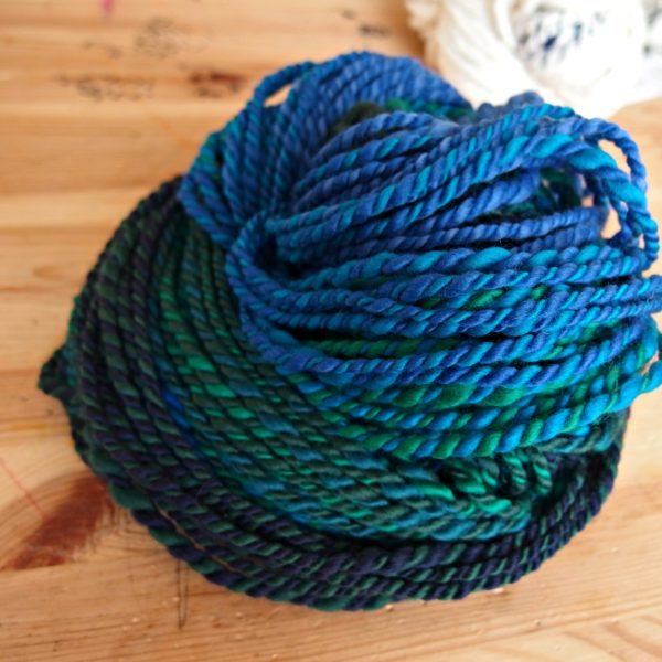 handspun merino fraction spin